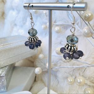 Frontrow.Style Jewelry - Sterling Silver Earrings Royal Fit For The Queen!